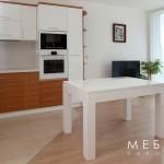 Кухня по поръчка МДФ фурнир